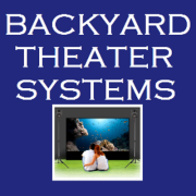 Backyard theatre systems Logo