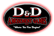 D&D Amusement Games Logo