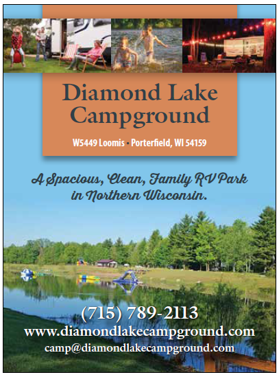 Diamond Lake Campground Ad